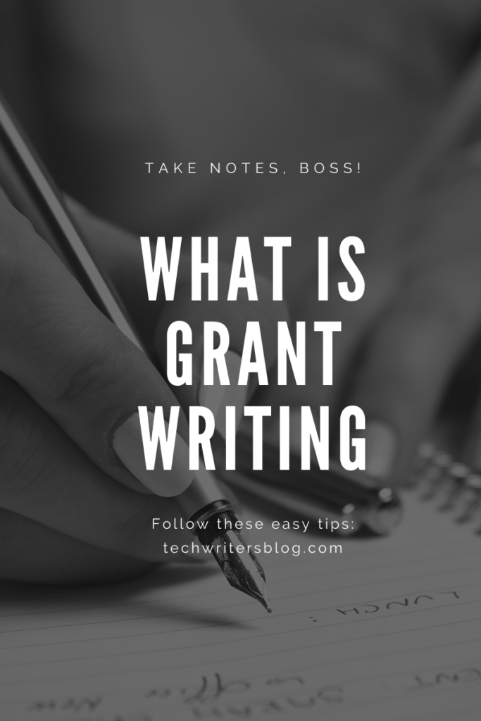 What is Grant Writing?