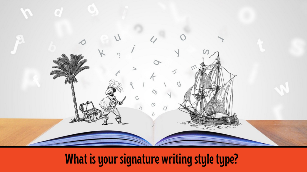 What is your signature writing style types?